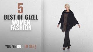Gizel Women Fashion [2018 Best Sellers]: Gizel Women Poncho S14122, (Brown, One Size)