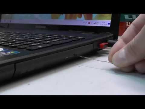 Как поменять двд привод на ноутбуке