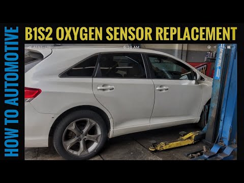 How to Replace the Bank 1 Sensor 2 Oxygen Sensor on a 2008-2015 Toyota Venza with 3.5L Engine