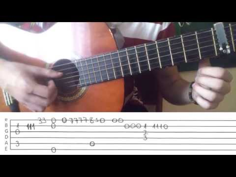 Lost Frequencies - Reality - Fingerstyle Guitar Lesson - Chords and TABS