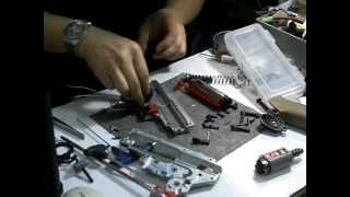 Airsoftpress Tech Video - Reshim A Ka M16 M135 Gearbox Part 2