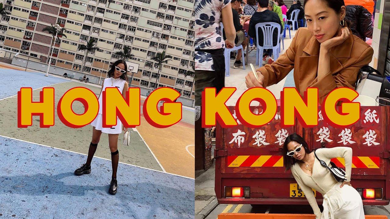 Hong Kong Travel Vlog w/ Jacopo + Prada Mode | Aimee Song