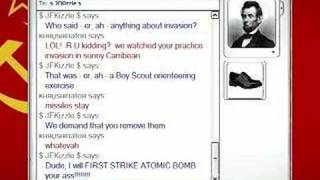MSN Messenger in History - The Cuban Missile Crisis
