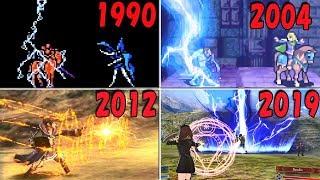サンダー魔法 進化の歴史 【1990-2019】 | Evolution of Thunder Magic in Fire Emblem Series
