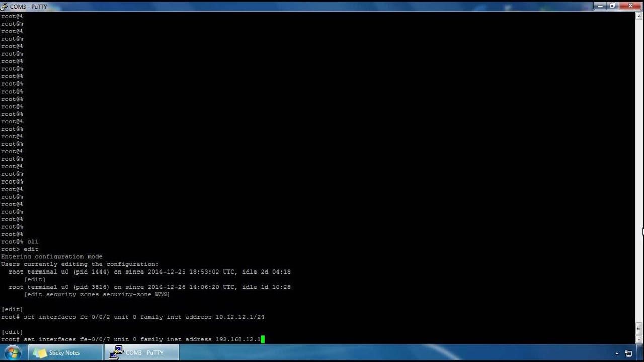 Security Zones and Interfaces - Juniper SRX Firewall - JNCIS-Sec
