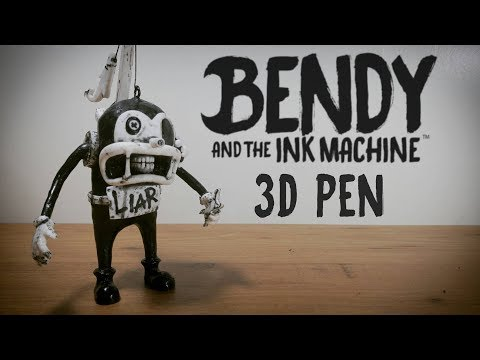 "3D Pen | Making Fisher ""Barley"" from The Butcher Gang 