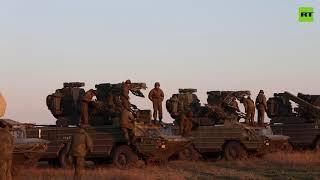 Rockets fire | Black Sea Fleet conducts training in Crimea