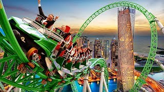 10 MOST WILD Roller Coasters IN THE WORLD!