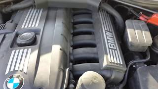 Ремонт двигунів у Волгограді.BMW 5 E60 N52B25 пластикова кришка.Основна причина.