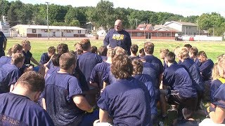 Miners open football practice with redemption on their minds