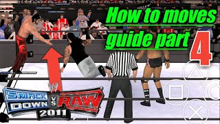 How to moves guide svr 2011 psp (part 4 ) by MR.SHAZ