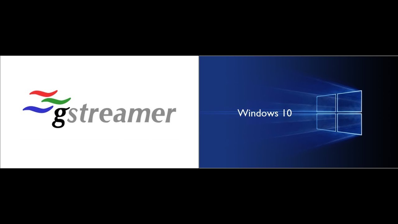 Install Gstreamer on Windows 10 64 bit - Part 11 - test receiving TCP/ip  video & audio from a webcam