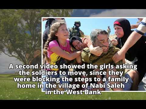 Israel Arrests Palestinian Girl Ahed Tamimi Over Viral Video Of Soldier Slapping