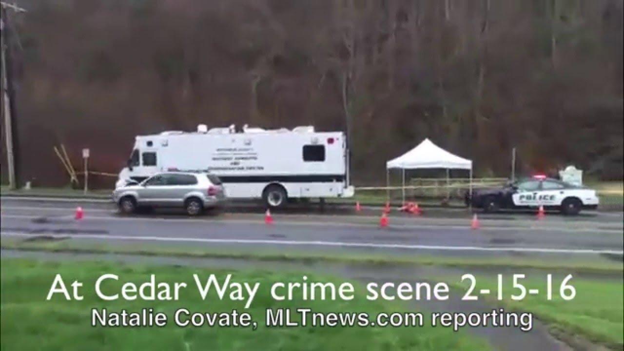 News conference, crime scene update regarding body found in Mountlake  Terrace