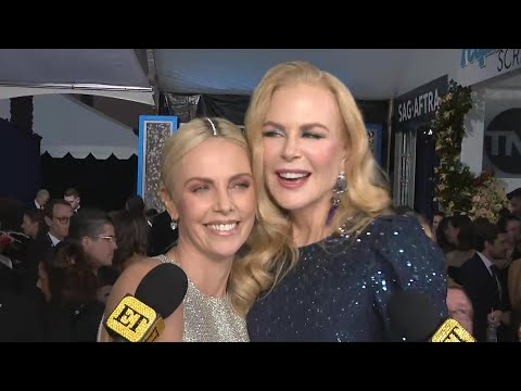 Watch Charlize Theron CRASH Nicole Kidman's Interview | SAG Awards 2020