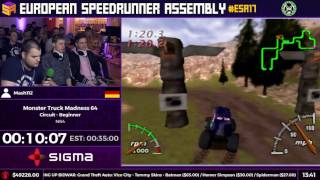 #ESA17 Speedruns - Monster Truck Madness 64 [Circuit - Beginner] by Mash112