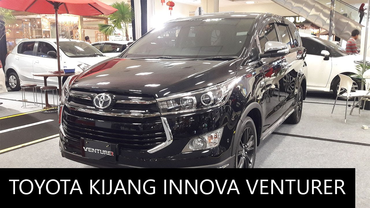 All New Kijang Innova Venturer Tipe V Toyota Exterior And Interior Walkaround