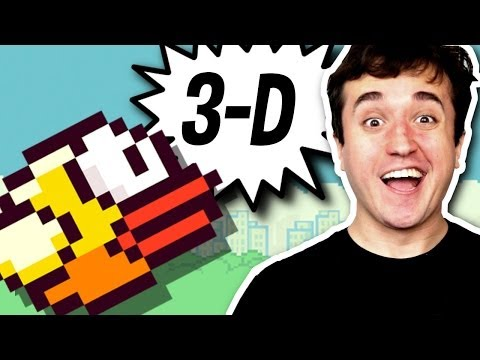 FLAPPY BIRD 3D! - Herdeiros do Flappy Bird (parte 8)