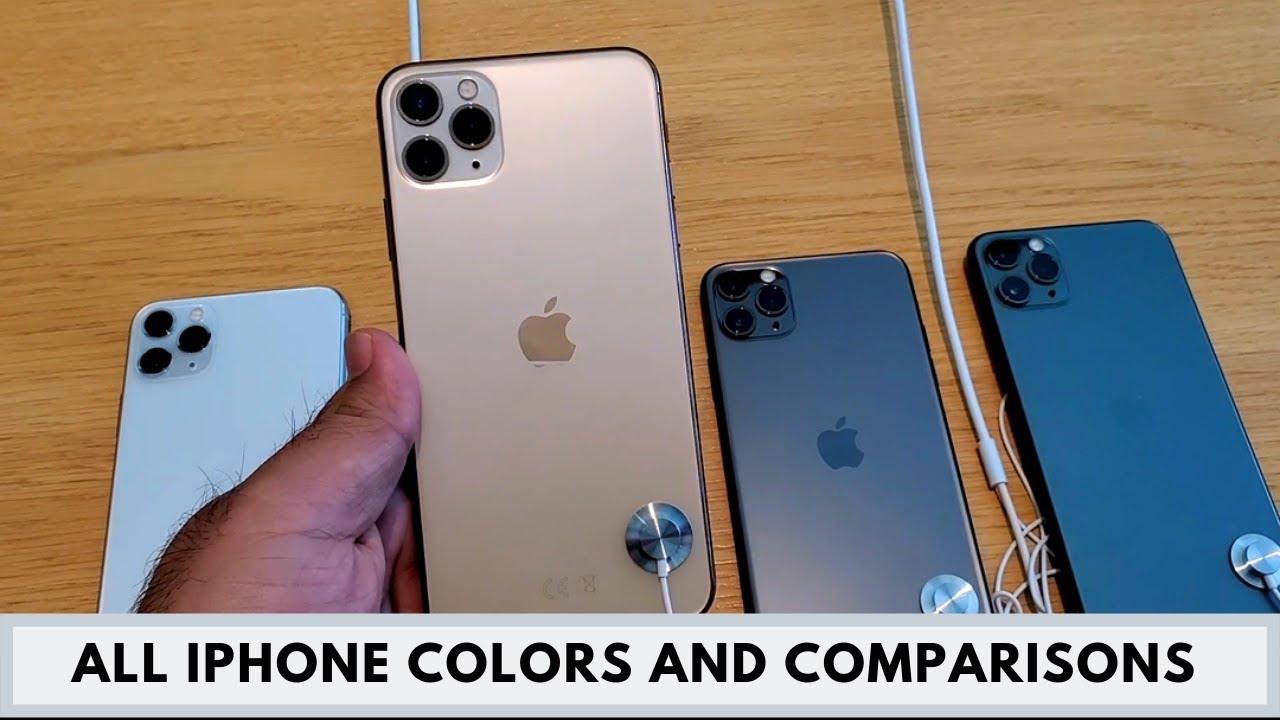 All iPhone 11 Colors , iPhone 11 / iPhone 11 Pro / iPhone 11 Pro Max