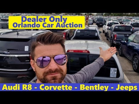 Deals Or Rip Off? A Day At A Dealer Only Car Auction