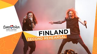 Blind Channel - Dark Side - Second Rehearsal - Finland 🇫🇮 - Eurovision 2021