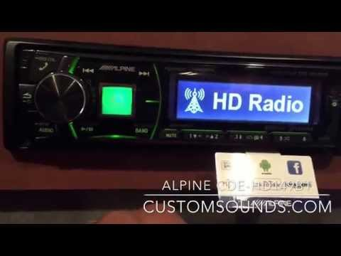 Alpine CDE-HD149BT