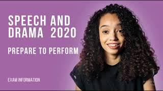 Speech and Drama Syllabus 2020