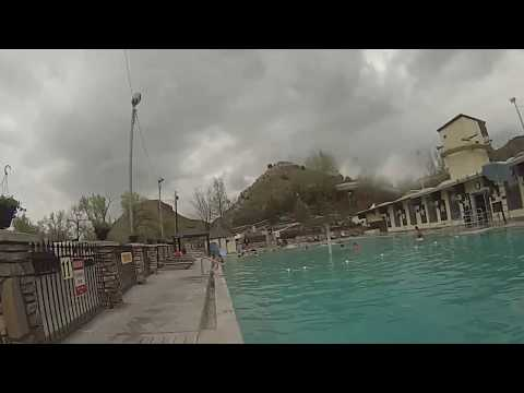 Star Plunge Hot Mineral Pools - FULL VIDEO TOUR (Hot Springs State Park, Thermopolis, WY)