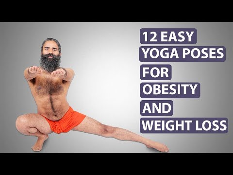 12 Yoga Postures for Obesity & Weight Loss   Swami Ramdev