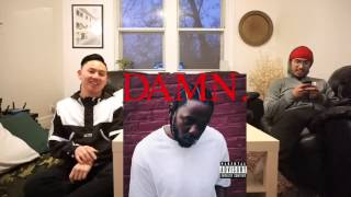 Kendrick Lamar - DAMN. | Album REACTION/REVIEW