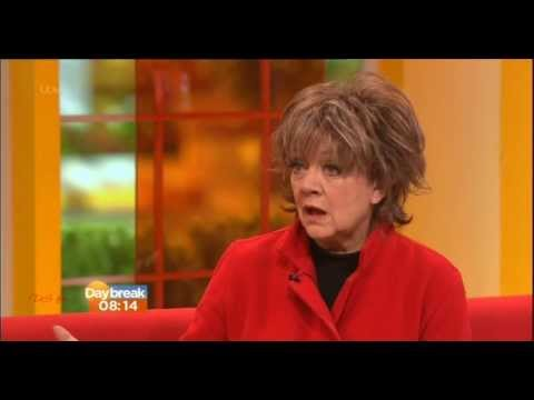AMANDA BARRIE:- itv Daybreak - 07 Feb 2014 - Amanda Barrie reflects ... on