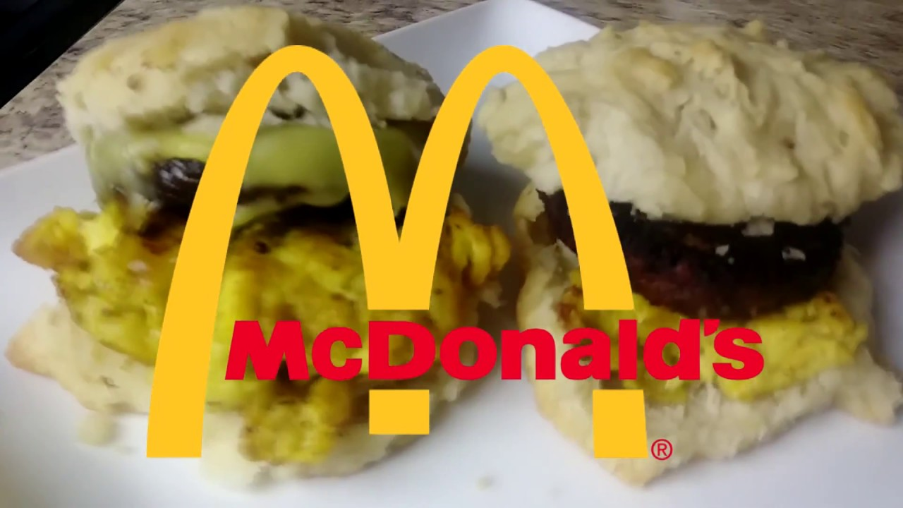 VEGAN SAUSAGE EGG AND CHEESE BISCUIT