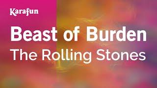 Karaoke Beast Of Burden - The Rolling Stones *