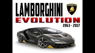 Lamborghini Evolution 1963-2017