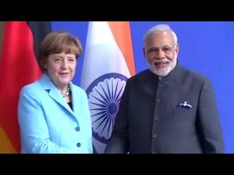 Watch: PM Narendra Modi's joint address with German Chancellor Angela Merkel in Berlin