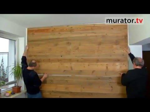 Zrób To Sam Stare Deski Na ścianę Boazeria Ze Starego Drewna Paulbunyan