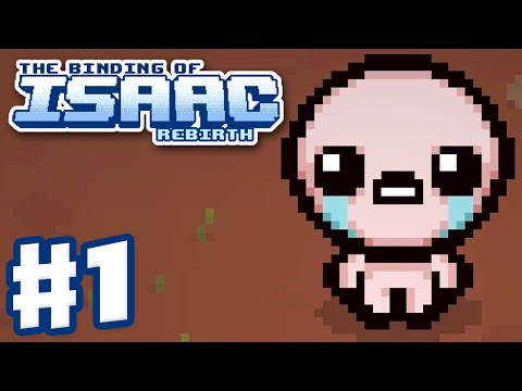 The Binding of Isaac: Rebirth - Gameplay Walkthrough Part 1 - Isaac First Run (PC)