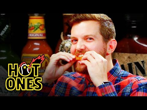 Dillon Francis Hurts His Body with Spicy Wings | Hot Ones