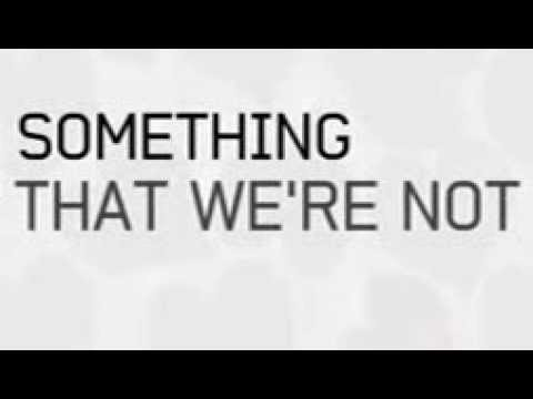 Demi Lovato - Something That We're Not (Lyric Video)