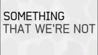 Repeat youtube video Demi Lovato - Something That We're Not (Lyric Video)
