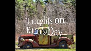 Thoughts on Father's Day