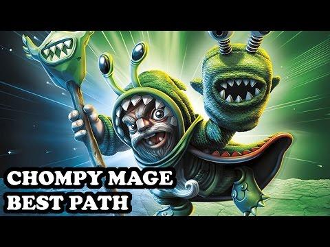Skylanders Imaginators - Chompy Mage - The Champ Of Chomp! Path - BEST PATH - GAMEPLAY