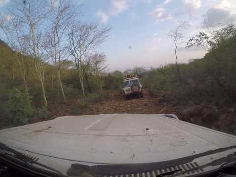 Bumpy road to Lotimor, South Sudan