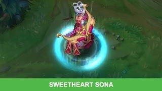 PBE 28/1/2016: Trang phục mới Sweetheart Sona | Sona Tiểu Tình Nhân