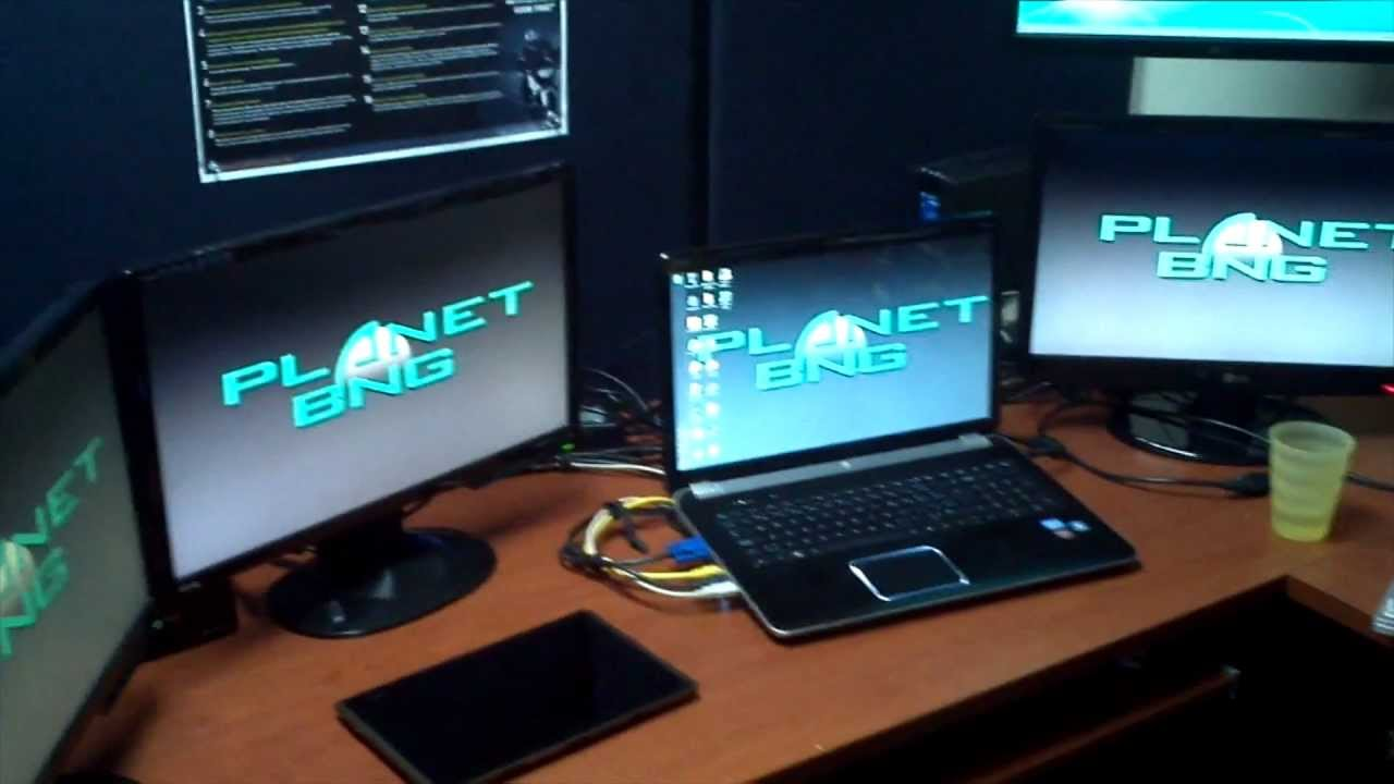 External Graphics Card 3 Monitors 1 Laptop Youtube