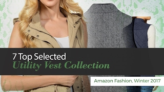 Top Selected Utility Vest Collection Amazon Fashion Winter