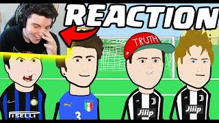 REACTION: Favij e Pietro vs IPantellas - CROSSBAR CHALLENGE - Parodia
