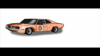 3# - Dukes Of Hazzard General Lee Speed Draw