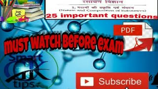 Important MCQ of chemistry (science) part :1 general awarness for all competitive exam