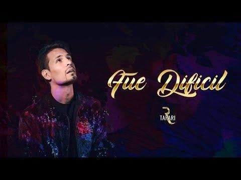 Rodrigo Tapari - Fue Difícil (Video Lyric Oficial) | Cumbia